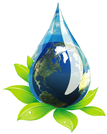 Environment friendly water drop